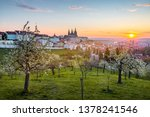 View Over Prague Skyline With...