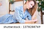 soft studio portrait of a...   Shutterstock . vector #1378288769