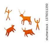 vector design of prehistoric...   Shutterstock .eps vector #1378311350