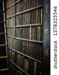 old library tomes | Shutterstock . vector #1378325546