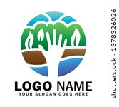 Hand Logo Holding Earth  Four...