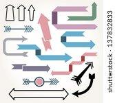 vector illustration of various... | Shutterstock .eps vector #137832833