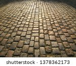 cobblestone pavement cobbled...   Shutterstock . vector #1378362173