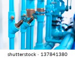 Pipes And Valves Of Heating...