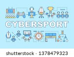 cybersport word concepts banner....
