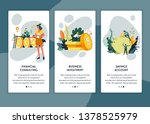 business investment and savings ...   Shutterstock .eps vector #1378525979