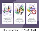 roulette wheel and slot machine ... | Shutterstock .eps vector #1378527290