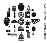 ale icons set. simple set of 25 ... | Shutterstock . vector #1378548599