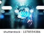 automation  business and...   Shutterstock . vector #1378554386