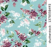 seamless pattern with background | Shutterstock . vector #1378558493