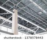 stadium ventilation system and... | Shutterstock . vector #1378578443
