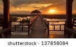 Sunset At Sam Roi Yod National...