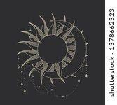 vector illustration set of moon ...   Shutterstock .eps vector #1378662323