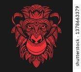 Red Monkey Head