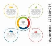 infographic design template... | Shutterstock .eps vector #1378684799