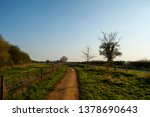 winding footpath in countryside | Shutterstock . vector #1378690643