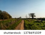 winding footpath in countryside | Shutterstock . vector #1378691039