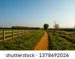 winding footpath in countryside | Shutterstock . vector #1378692026