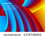 modern colorful background for... | Shutterstock .eps vector #1378748303