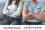 close up of a couple arguing...   Shutterstock . vector #1378753499