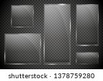 glass plates are installed.... | Shutterstock .eps vector #1378759280