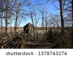birdwatching house in the forest | Shutterstock . vector #1378763276