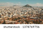 view of athens  greece city... | Shutterstock . vector #1378769756