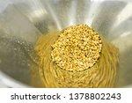 production of peanut butter ... | Shutterstock . vector #1378802243
