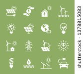 Set Of Eco Vector Icons In Fla...