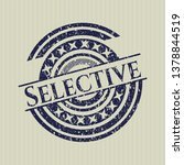 blue selective distressed... | Shutterstock .eps vector #1378844519