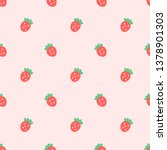 Doodle Tiny Red Seamless Lovel...