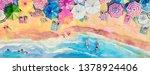 Painting Watercolor Panorama...