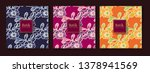 floral ethnic colorful pattern | Shutterstock .eps vector #1378941569