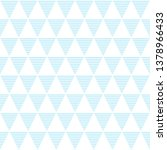 seamless pattern of triangles.... | Shutterstock .eps vector #1378966433