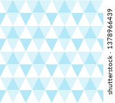 seamless pattern of triangles.... | Shutterstock .eps vector #1378966439