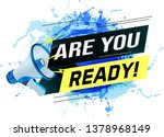 are you ready word concept...