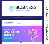 beautiful business concept... | Shutterstock .eps vector #1379001710