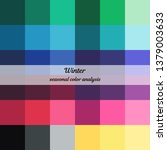 stock vector color guide.... | Shutterstock .eps vector #1379003633