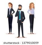 professional businesswomen and...   Shutterstock .eps vector #1379010059