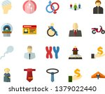 color flat icon set   holy... | Shutterstock .eps vector #1379022440