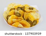 Nacho Chips  Cheese And Peppers