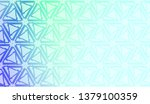 geometric pattern with pastel... | Shutterstock .eps vector #1379100359