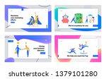 business partnership banner...   Shutterstock .eps vector #1379101280