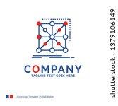 company name logo design for... | Shutterstock .eps vector #1379106149
