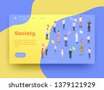 society people isometric...