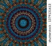 seamless background pattern.... | Shutterstock .eps vector #1379131613