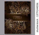 exquisite chocolate royal...   Shutterstock .eps vector #1379144036