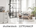 open space kitchen and living... | Shutterstock . vector #1379146619