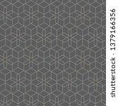 elegant monochromatic vector... | Shutterstock .eps vector #1379166356