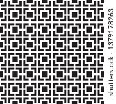 abstract seamless black and... | Shutterstock .eps vector #1379178263